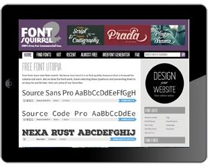 ipad-font-squrrel