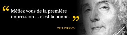 Citation Talleyrand Simple Slide